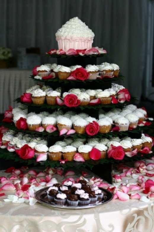 Wedding Cupcake Stand Courtesy of Kristiapaz Flickr