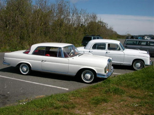 A pair of Mercedes-Benz choices