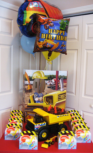 Construction Theme Birthday Party