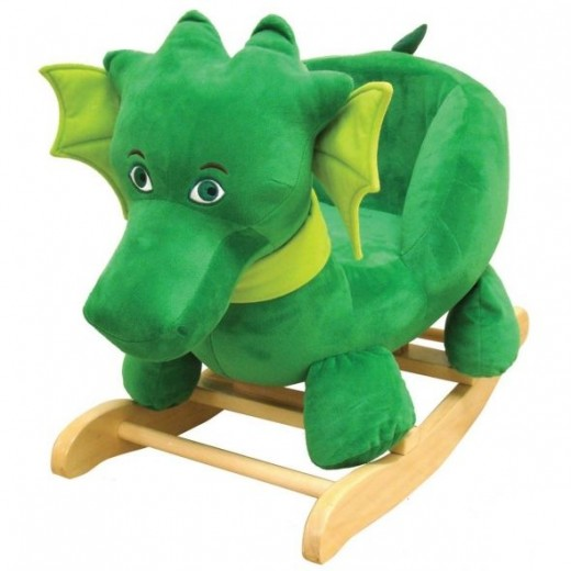 Kids Preferred Puff, The Magic Dragon: Rocker