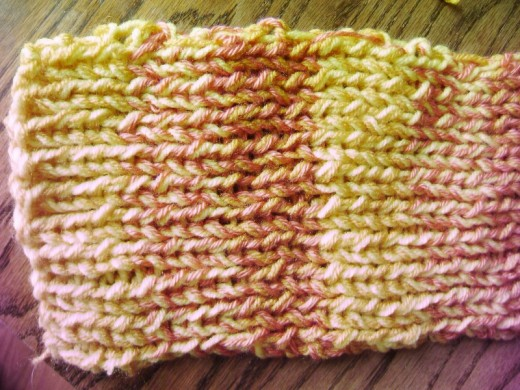 Aglow Scarf from Book 2