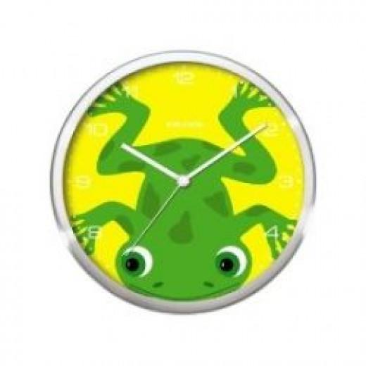 Present Time Peekaboo Wall Clock