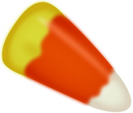 Candy corn - a Halloween favorite.