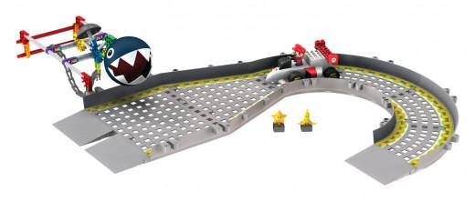 Nintendo Mario versus Chain Chomp Building Set