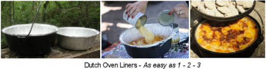 Camping Dutch Oven Liners
