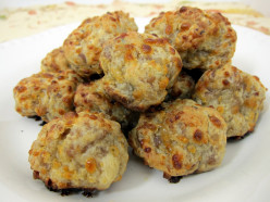 Spicy Sausage Pancake Balls Recipe
