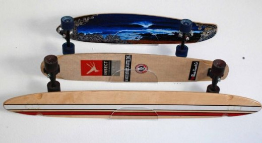 Skateboard Storage Display Rack