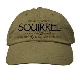 Earth Sun Moon Khaki Advice From A Squirrel Hat