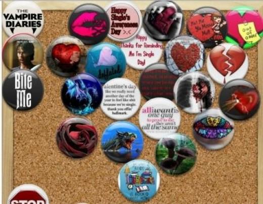 My Valentine memo Board