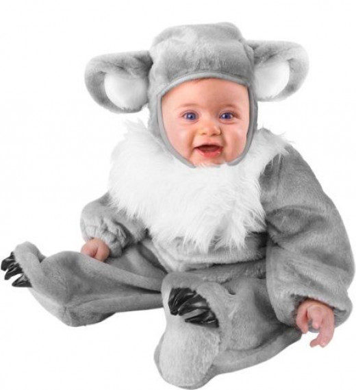 Unique Infant Baby Koala Bear Animal Costume (6-12 Months)