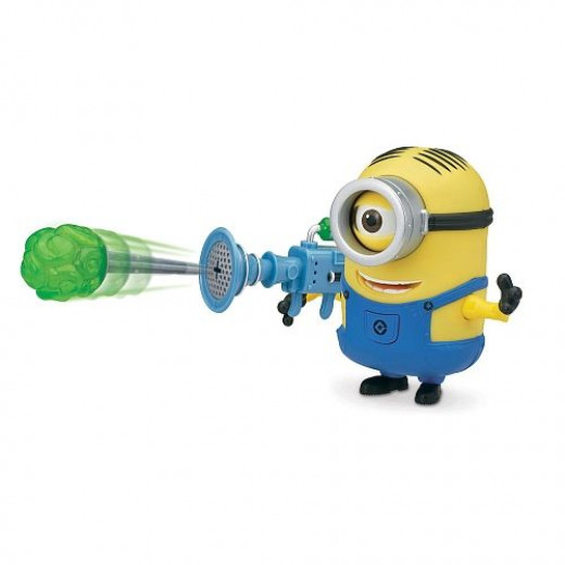 Despicable Me 2 Deluxe Stuart Action Figure with Fart Dart Launcher