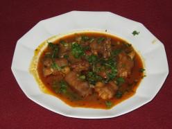 INDIAN FOOD RECIPE-LAMB'S/GOAT'S LEGS ( PAYA )