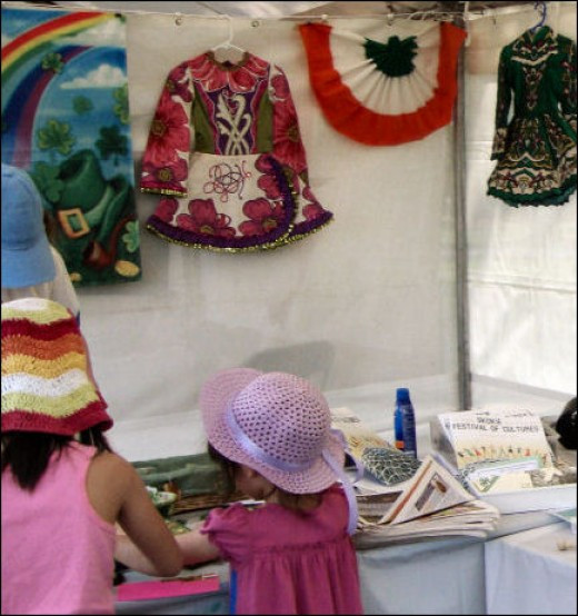 Ireland - With crafts and games for the children.