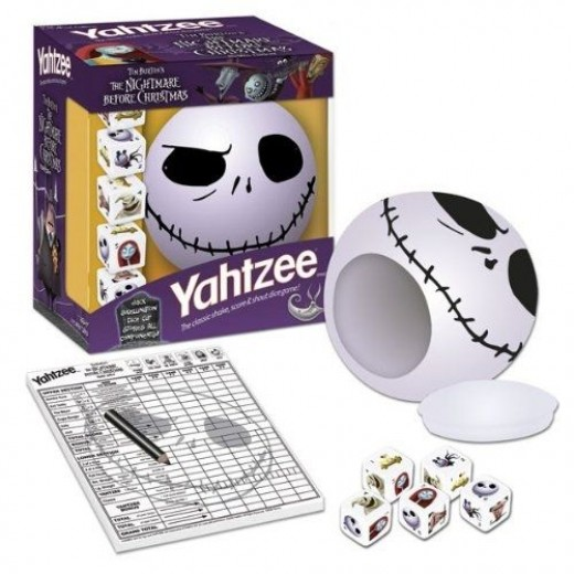 USAopoly Nightmare Before Christmas Yahtzee