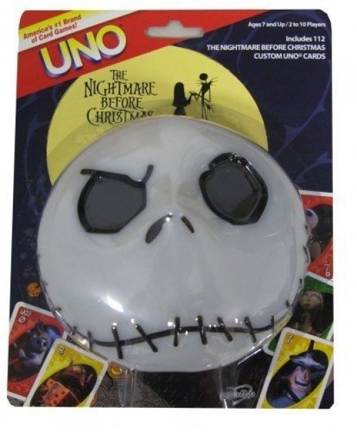 The Nightmare Before Christmas UNO