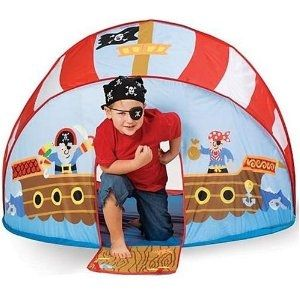Pirate Pop-Up Tent Play Set
