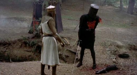 Black Knight minus an arm