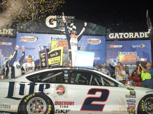 Keselowski won four times during the regular season, more than any other driver
