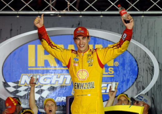 Like Earnhardt, Logano had three regular season wins. But his season will likely end in the Eliminator round
