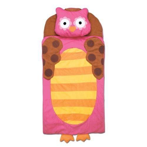 Pink Owl Girls Stephen Joseph Nap Mat