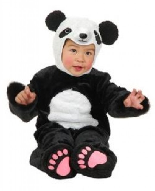 Animal Planet Panda Child Costume