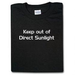Keep out of Direct Sunlight