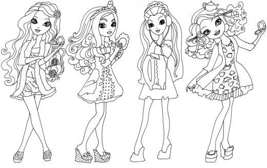 Getting Fairest Ever After High Dolls