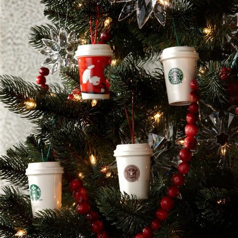 Starbucks Coffee Logo Christmas Ornaments