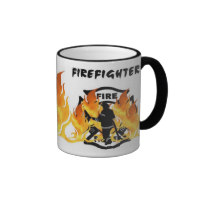 Firefighter Coffee Mugs