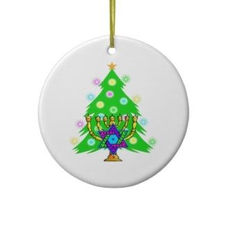 Hanukkah and Christmas Ornaments