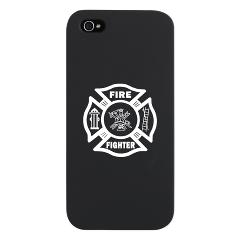 Firefighter iPhones definitely a classy way to stay in touch