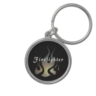 Key rings and accessories for firefighters are great gift ideas.