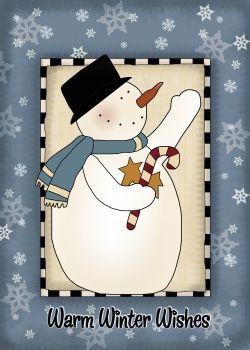 Snowman Greetings