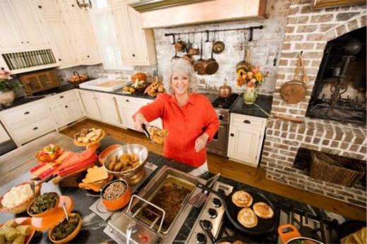 Paula Deen In The Kitchen
