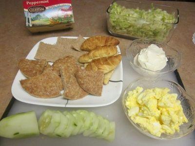 Tea Party Sandwich Ingredients
