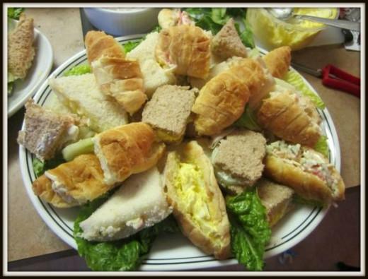 Tea Sandwich Platter