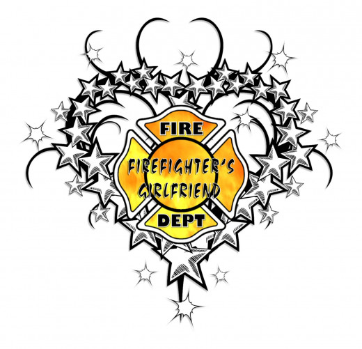 Firefighter's Girlfriend Tattoo