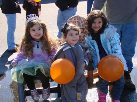 Firehouse Princesses and Costume Fun