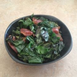 Bacon and Collard Greens