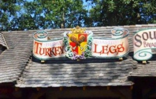 Love those Turkey Legs!