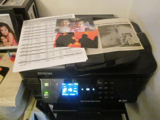 Epson Printer Copier Scanner
