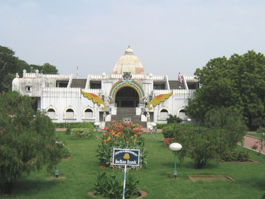 Fig.1 Front View of the Main Hall at Valluvar Kottam.