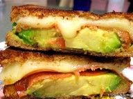 Yum Avocado Grilled Cheese Gourmet aturtleslifeforme.com