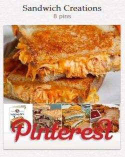 My Sandwich Creations On Pinterest