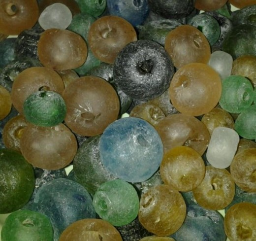 Fair Trade Recycled Glass Beads