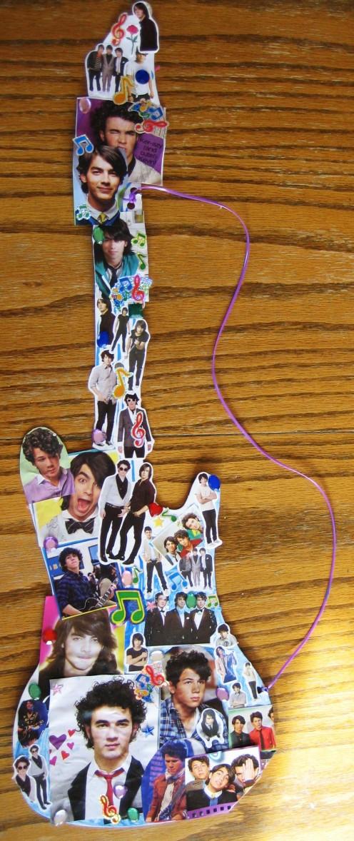 Jonas Brothers Guitar Party Craft