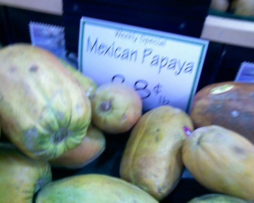 Mexican Papaya on sale