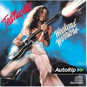 Weekend Warriors Ted Nugent on an Audio CD
