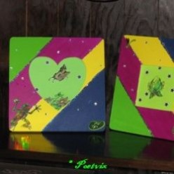 Picture Frame Decorating - Sparkle and Shine - An Easy DIY Craft Demo