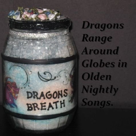 DIY dragon's breath in a bottle - Apothecary bottle craft